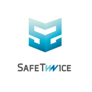 safe twice logo